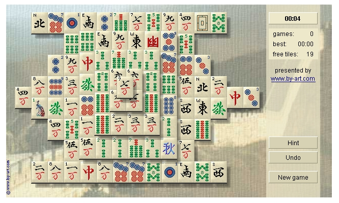 mahjongg by-art