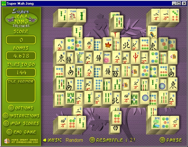 Solitaire MahJongg - a guide to the world of the computer ...
